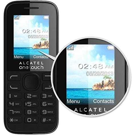 pay as you go mobile vodafone alcatel 10 52 pay as you go mobile phone handset