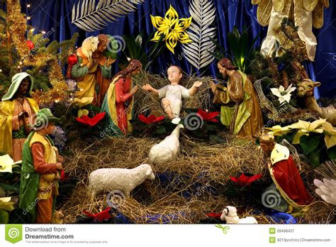 christmas pulkoodu photos crib stock image image of merry celebration 28498437