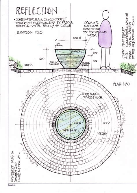 pattern layout drawing design drawings