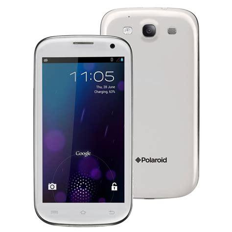 polaroid mobile polaroid pro4611 blanc mobile smartphone polaroid sur ldlc