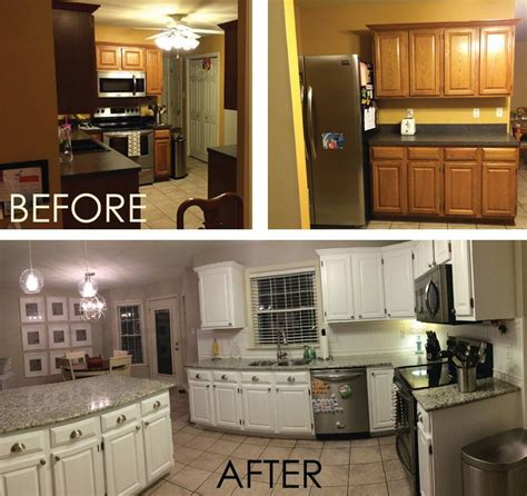 how to remodel kitchen cabinets galley kitchen remodel before and after on a budget