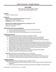 School Counselor Resume by Michigan School Guidance Counselor Postings