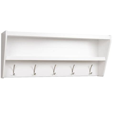 Entryway Shelf With Hooks White by Entryway Shelf With Hooks In Entryway Storage