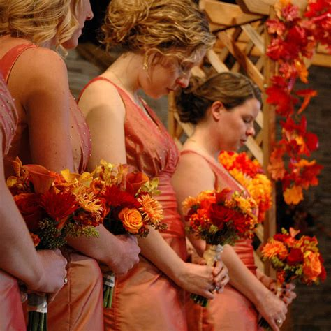 Fall Flower Picture Wedding by Autumn Or Fall Wedding Theme St Simons Island Wedding