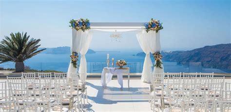Santorini Wedding Venues, Small wedding venues in