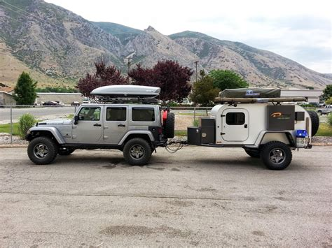 Jeep Road Cer Trailer Moby1 Expedition Trailers Take Cing Road Smart Car