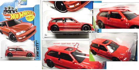 Hotwheels Honda Civic Ef Us Card kelvinator21 s wheels