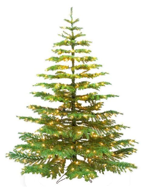 small artificial christmas trees with lights amazon com barcana 9 foot noble fir ready trim christmas