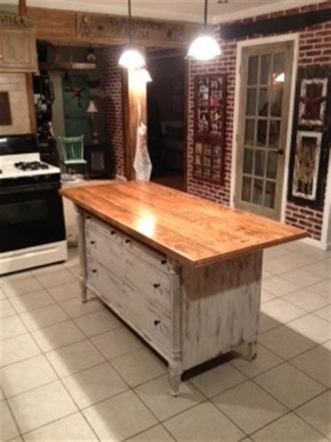 Kitchen Island Made From Dresser by 74 Best Images About Diy Kitchen Islands On