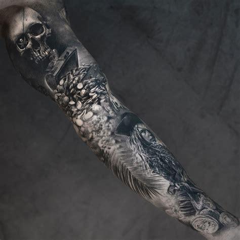 treasure tattoo pirate treasure sleeve best design ideas