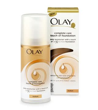 Olay Foundation products keeping beautiful