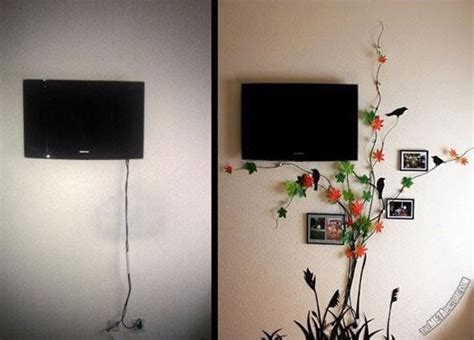 Kabelsalat Verstecken Kreative Ideen by 20 Creative Diy Ideas To Hide The Wires In The Wall Room