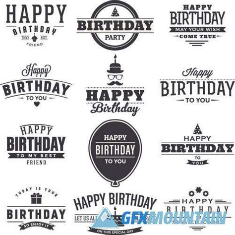 printable happy birthday fonts happy birthday 187 free download graphics fonts vectors