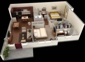 Two Bedroom Appartment by 2 Bedroom Apartment House Plans Smiuchin