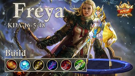 Legend Of Freya mobile legends freya best mvp gear items build 2017 mp3speedy net