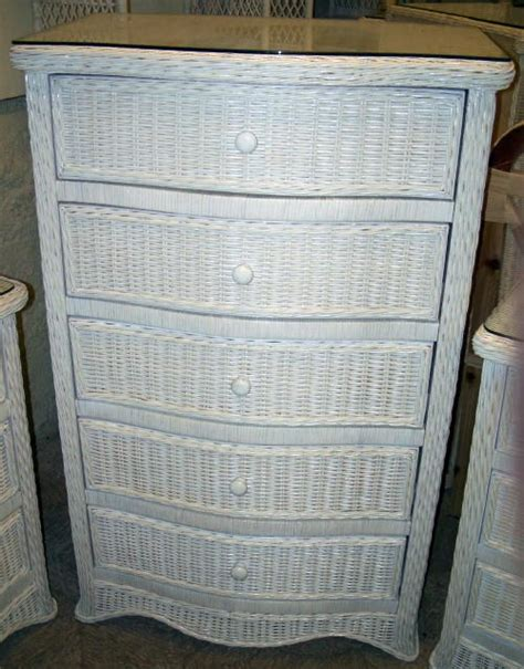 white rattan chest of drawers wicker chest of drawers furniture roselawnlutheran