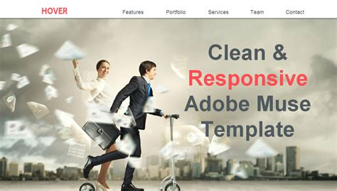 muse hover animation effects responsive muse templates hover single page muse template creative muse