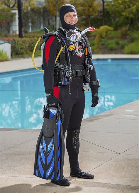 dive equipment temperature scuba equipment padi