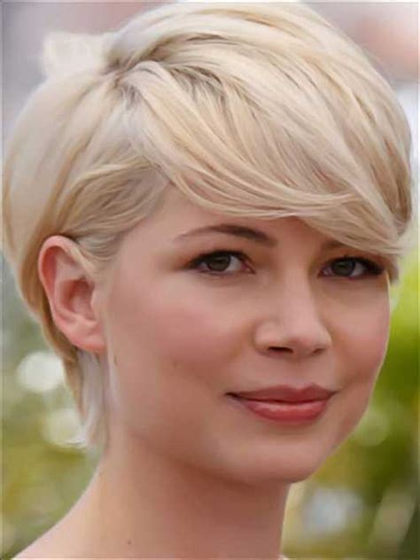 short blended hairstyls bob with blended bangs picture slightly angled bob with