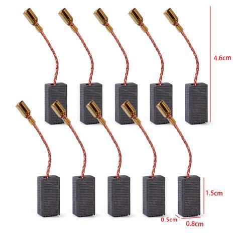 Armature Bosch Gws 7 100 H L 10pcs carbon brushes for bosch gws 850 c gws 7 115 gws 8