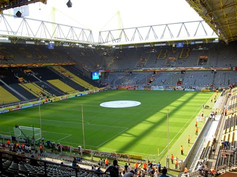 signal iduna park away section top stadium in the world signal iduna park