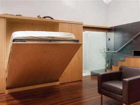 Adorable Design Of Fold Up Wall Bed For Small Bedroom