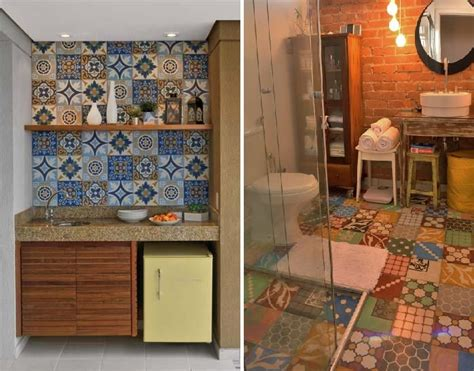 azulejo que imita tijolo ceramica que imita ladrilho hidraulico pesquisa google