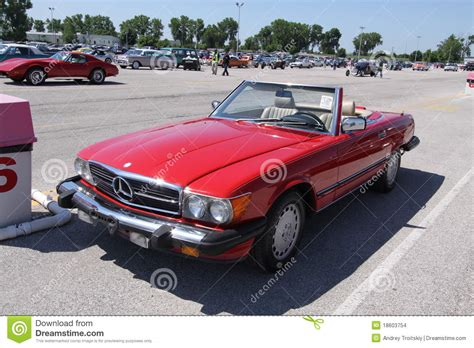 classic mercedes convertible mercedes convertible coupe editorial stock image image of