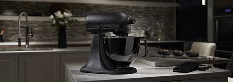 all black kitchen aid black tie limited edition stand mixer kitchenaid