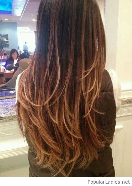 long shag hairstyle pictures with v back cut amazing long hairstyles and haircuts
