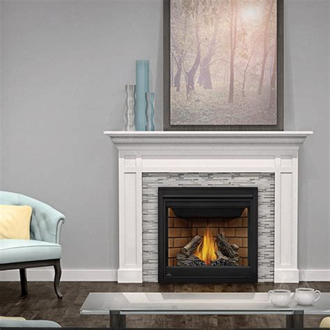 Napoleon Gas Fireplaces Reviews by Napoleon Ascent X 36 Gx36 Brick House Ops