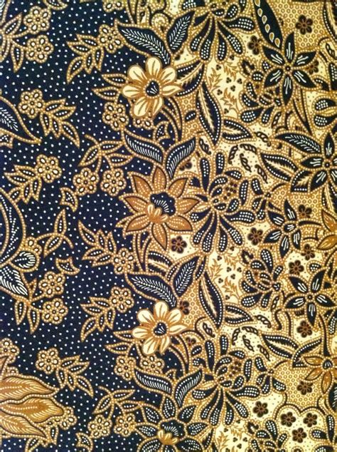 fabric design of indonesia flower pattern most likely pesisir batik nyonya batik