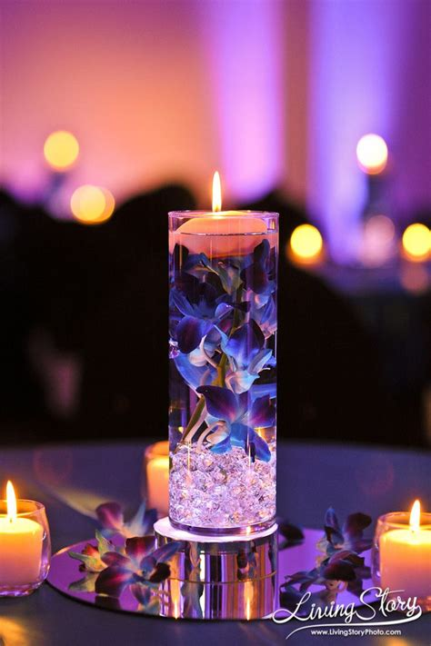 25 best ideas about floating candle centerpieces on floating candles floating