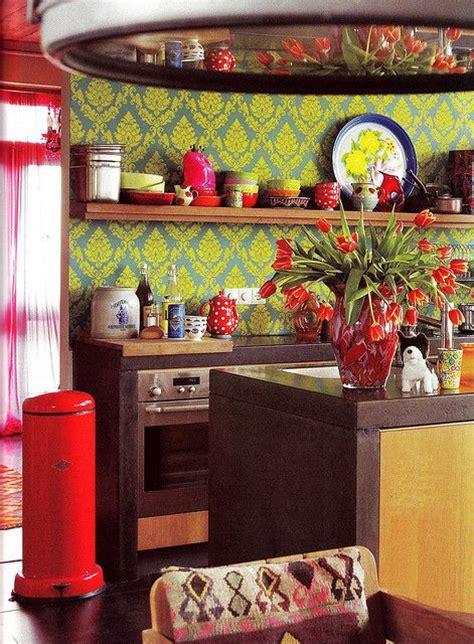 colorful kitchen designs kitchen ideas design with 49 colorful boho chic kitchen designs digsdigs