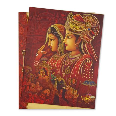Wedding Card With Groom And by Royal Hindu Wedding Invitation Card With Groom