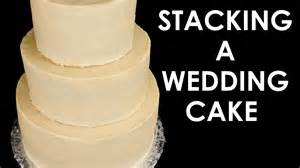 how to make a two tier wedding cake how to make a wedding cake stacking a 3 tier wedding cake