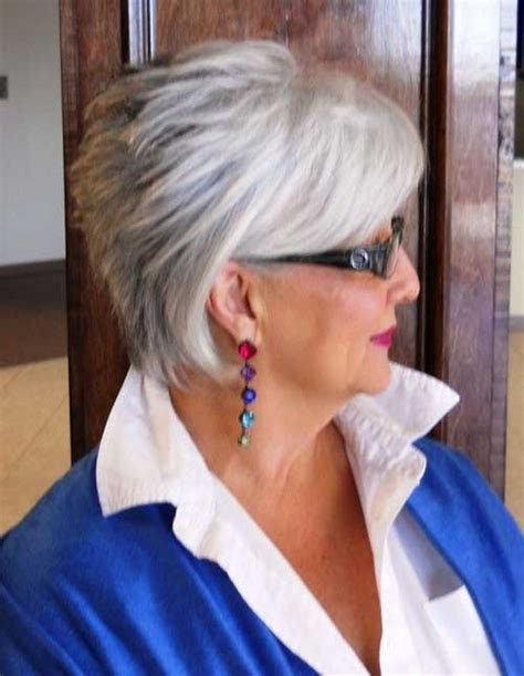 stylish cuts for gray hair trendy short hair styles the best short hairstyles for