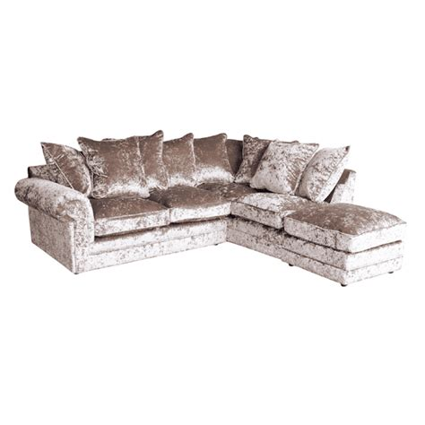 crushed velvet chesterfield sofa crushed velvet furniture sofas beds chairs cushions