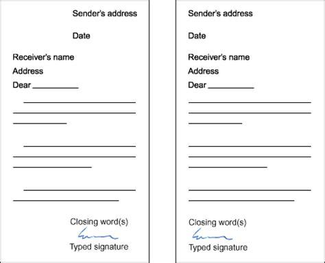 exle of formal letter composition basic writing for esl students sle