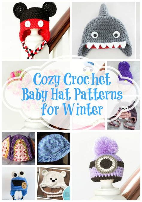 winter crochet cozy warm crochet clothes and crochet ornaments books 21 cozy crochet baby hat patterns for winter