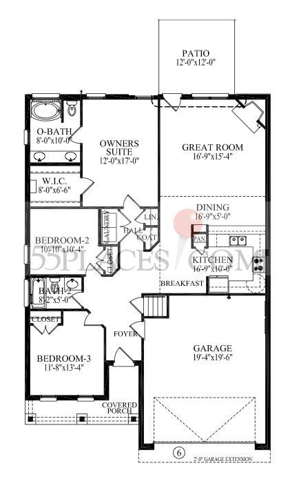 country highlands floor plans hatteras country ii floorplan 1866 sq ft the