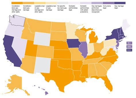 marriage map interactive map shows the patchwork of marriage rights american foundation for equal