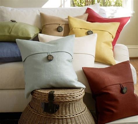 Pottery Barn Button Pillow by 1000 Images About Pillow Ideas On
