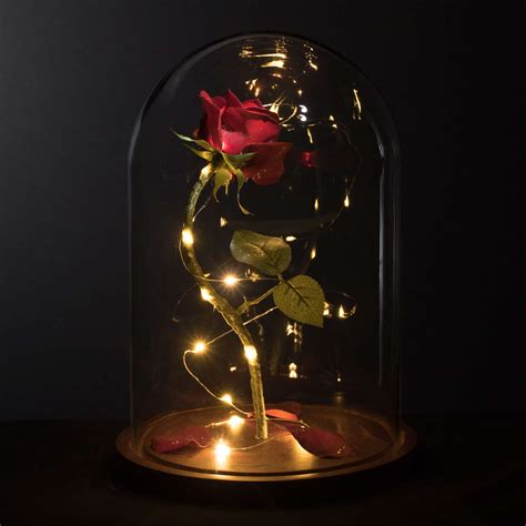 And The Beast Flower Vase by Enchanted Sized From And The Beast