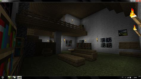 How To Make Living Room Minecraft Minecraft Living Room By Arnhem919 On Deviantart