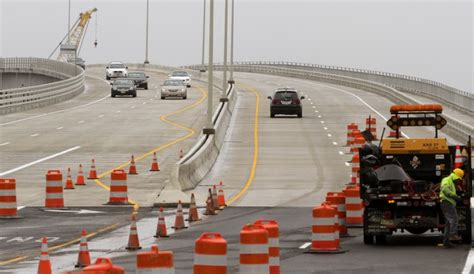 People walk ride and drive over route 52 causeway to celebrate grand