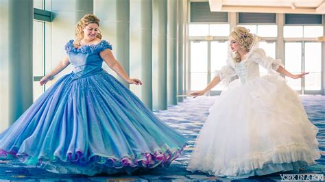 Cinderella and Fairy Godmother 2015 Cosplay at D23 by glimmerwood on DeviantArt