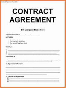 Free Service Agreement Contract Template by 8 Contract Agreement Template Marital Settlements