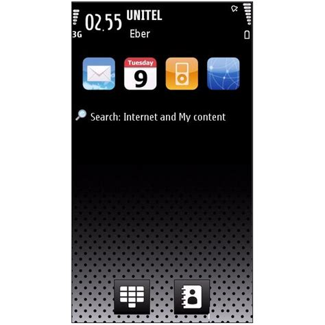 iphone themes symbian iphone dark theme para symbian download