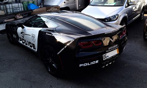 police corvette stingray transformers inspired police corvette c7 spotted in sweden